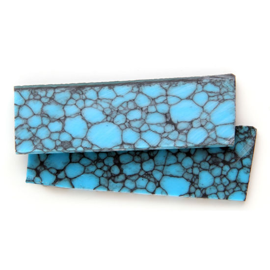 Composite Turquoise Scales DIY Handle Material