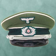 Picture of German WWII Reproduction Wehrmacht Officer's Cap