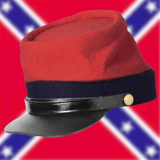 Jean Wool Military Uniform Supply Reproduction Civil War Kepi Cap