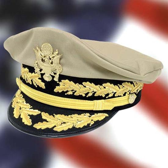 US WWII Generals Crush Cap