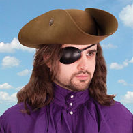 Picture of Leather Eye Patch - Right Eye