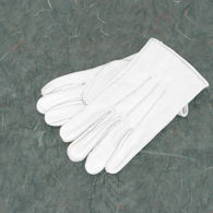 Picture of White Leather Gloves