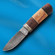 Sailor's Companion Damascus Knife