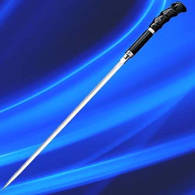Buffalo Horn Sword Cane - Fully tempered, high carbon steel blades