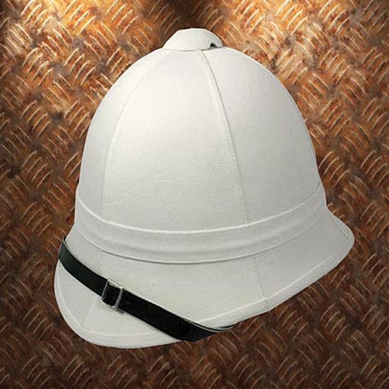 Classic White Pith Helmet