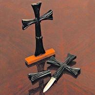 Picture of Gothic Cross Desktop Push Dagger