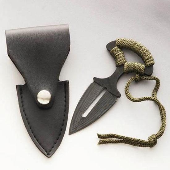 Military Style Push Dagger with Belt Sheath