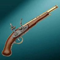 English Dueling Pistol