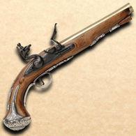 George Washington Flintlock Pistol Non firing Replica
