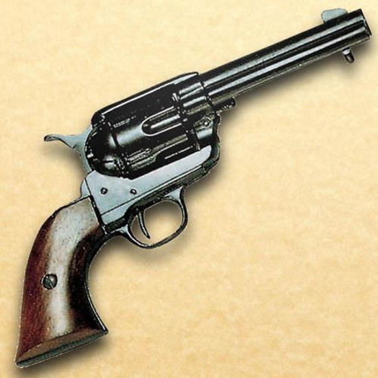 Black Old West 1873 Quick Draw Army Revolver