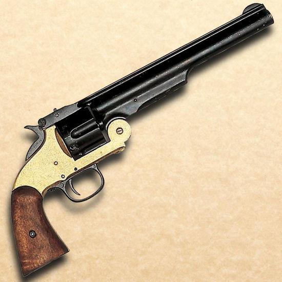 Model 1869 Schofield Style Revolver - Brass