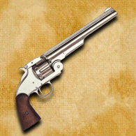 Model 1869 Schofield Style Revolver - Nickel