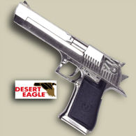 Desert Eagle Replica Magnum Pistol Chrome