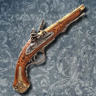 Napoleonic Double Barrel Flintlock
