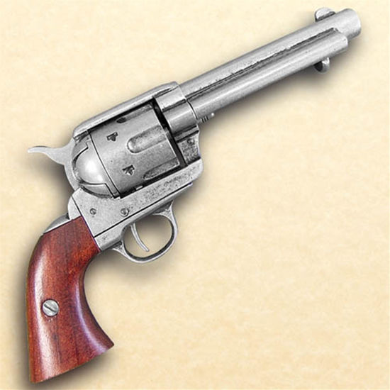 1873 .45 Caliber Revolver Grey Finish