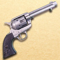 1873 Fast Draw Short Barrel Revolver -  Antique Grey Finish