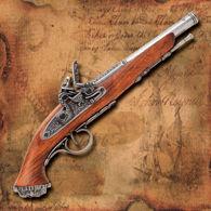 Picture of Death's Head Flintlock Pistol