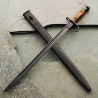 1907 Bayonet with Hooked Quillion & Sheath