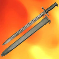Long M1 Bayonet with Scabbard