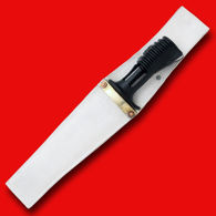 British SA-80 Bayonet with Parade White Leather Sheath