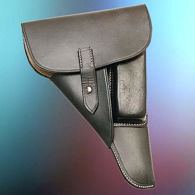 Picture of P-38 Soft Shell Holster German Marked
