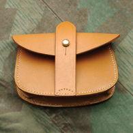 British WWI Sam Browne Leather Cartridge Pouch