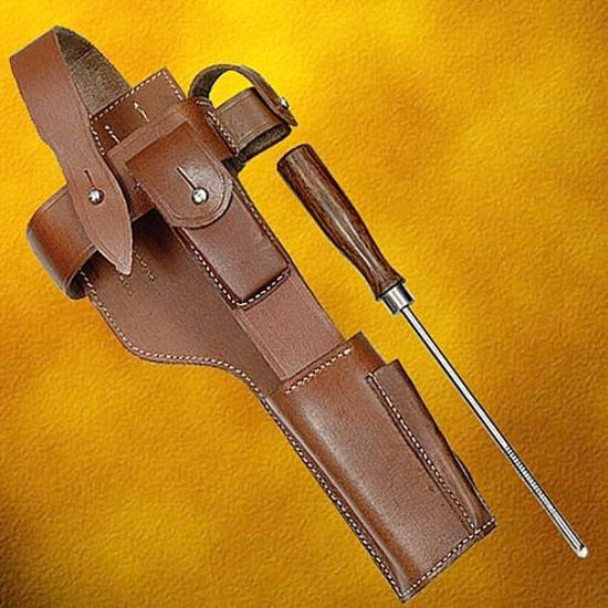 C-96 Leather Harness & Cleaning Rod