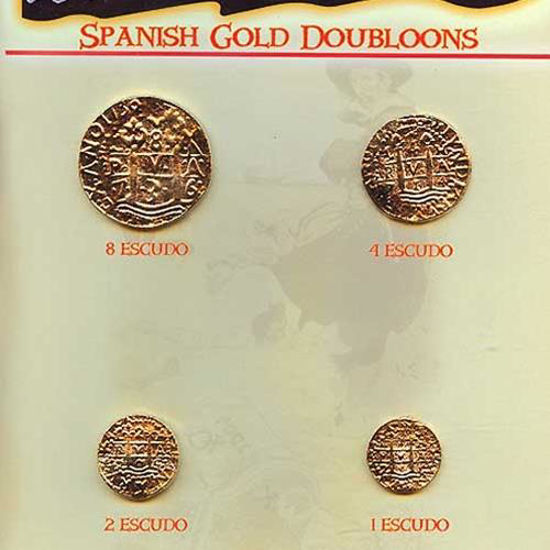 Picture of Replica Gold Doubloon Coins
