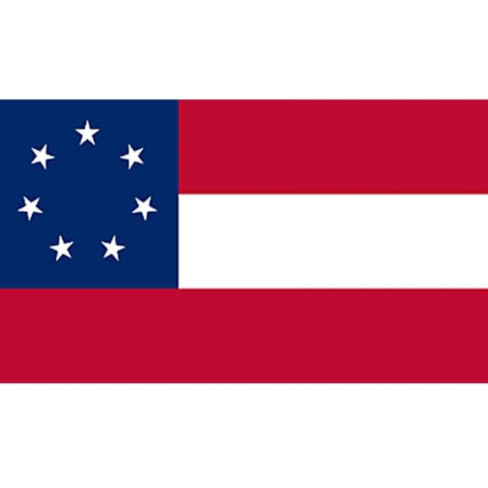 1st version 1st Confederate National Flag
