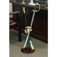 Commemorative Saber and Sword Display Stand