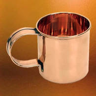 Picture of Solid Copper Coffee Mug