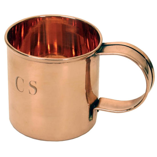 Picture of Solid Copper CS Coffee Mug
