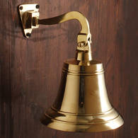 Picture of Standard Mount Brass Ship's Bell