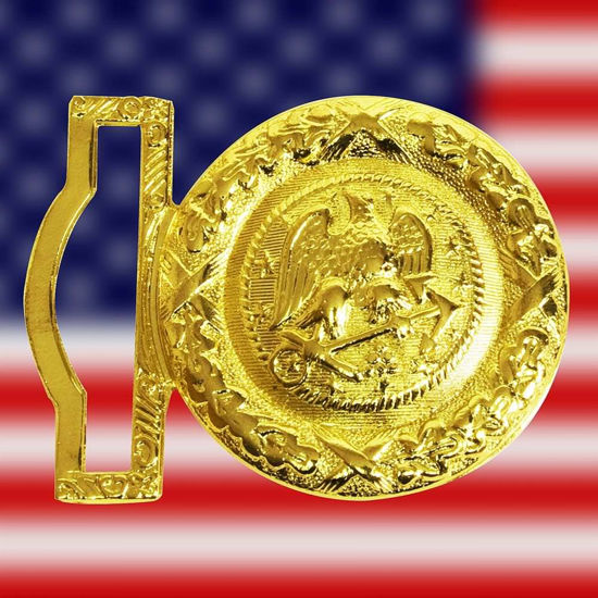 Picture of Navy Officer's Brass Buckle