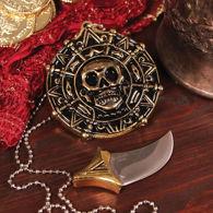 Pirate Pendant With Hidden Blade - blade detached