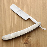 Barbershop Razor with Imitation Pearl Grip