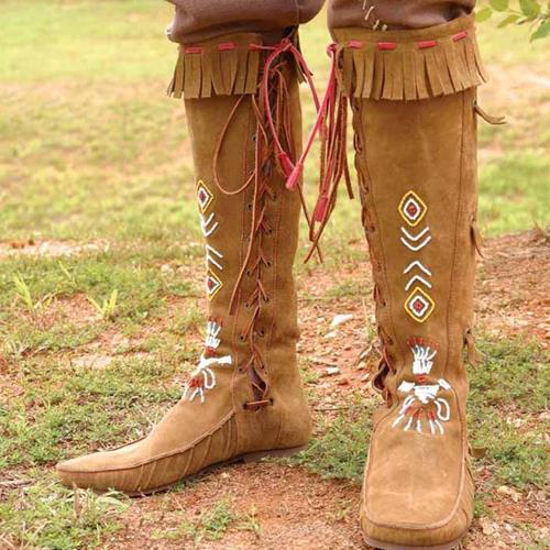 Picture of Native American Boots