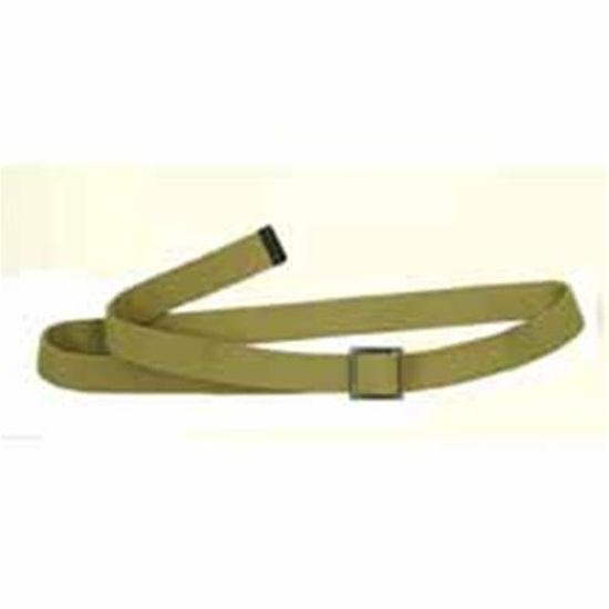 "Picture of U.S. WWII Khaki 1 1⁄4"" Canvas Trouser Belt"