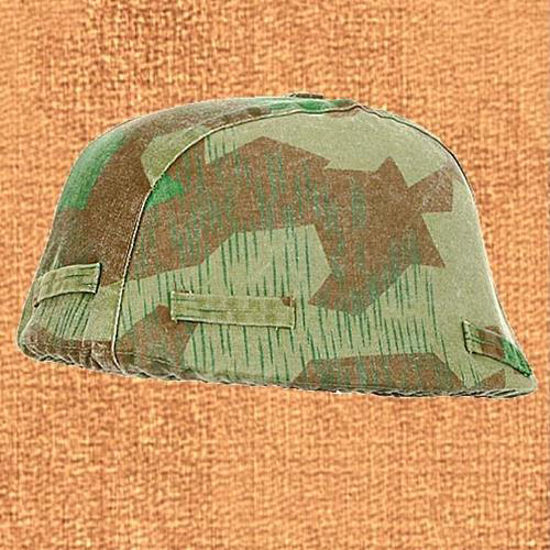Picture of Camouflage German Helmet Cover