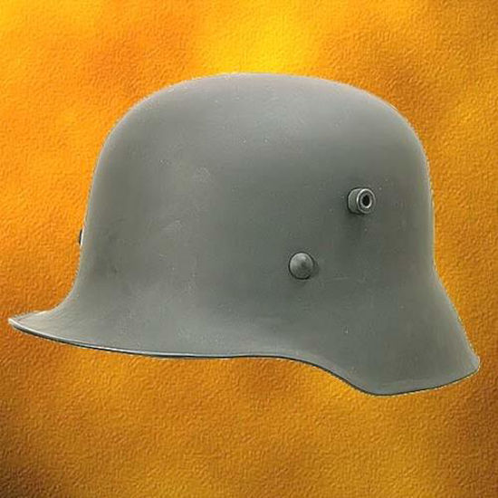 Picture of German WWI WWII M-16 / M-18 Replica Helmet