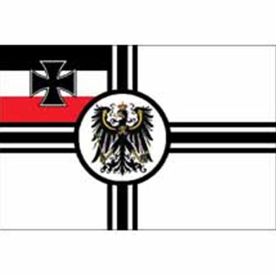 Picture of German WWI Imperial Naval War Flag