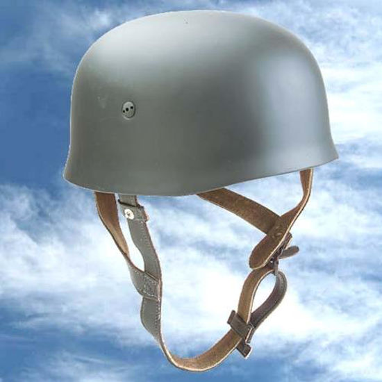 Picture of German WWII Replica Paratrooper Helmet