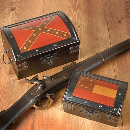 Picture of Confederate Treasure Chests