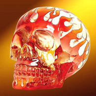 Picture of Crystal Flame Skull