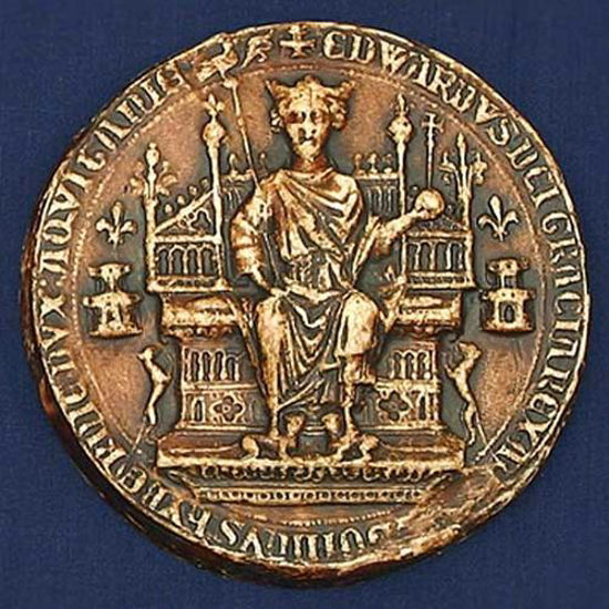 Picture of First Great Seal of Edward III