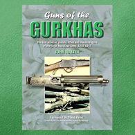 """Picture of """"Guns of the Gurkhas""""  Laminated Hardcover Book"""