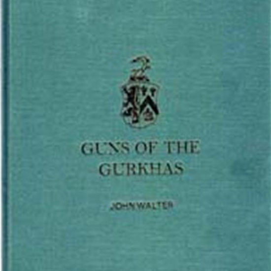 "Picture of ""Guns of the Gurkhas""  Signed Cloth Hardcover Book"