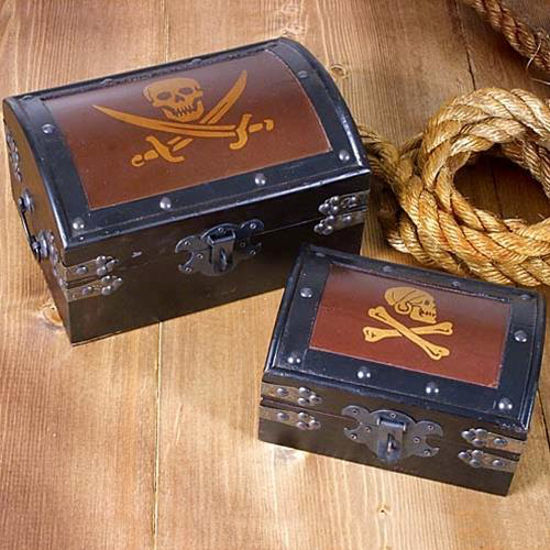Picture of Pirate Treasure Chests