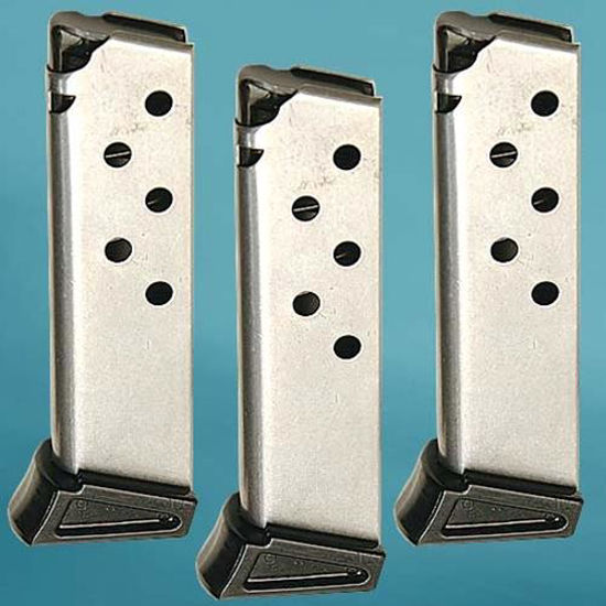 Picture of Walther PPK/S, PP .380 ACP 7 Round Nickel Magazine 3 PK