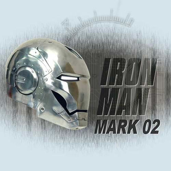 Picture of Iron Man The Movie: Mark 02 Helmet